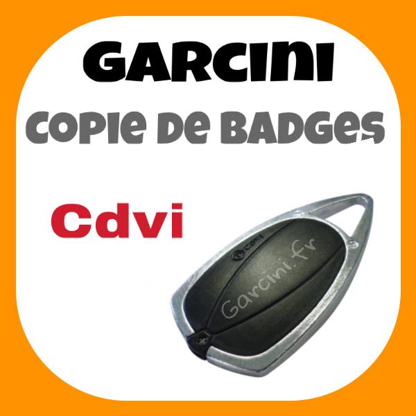 Badge CDVI noir nouveau model