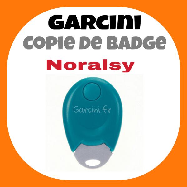 Badge Noralsy bleu