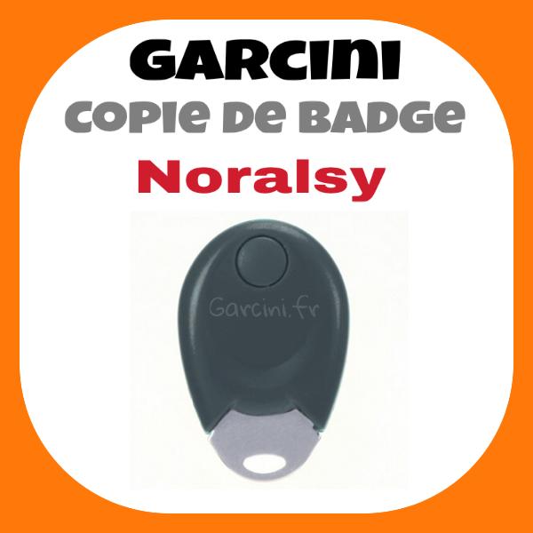 Badge Noralsy noir