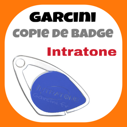 Badge Intratone bleu