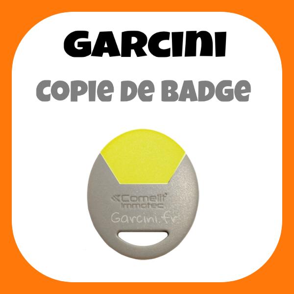 Badge Immotec Comelit jaune