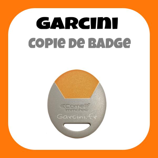 Badge Immotec Comelit Orange