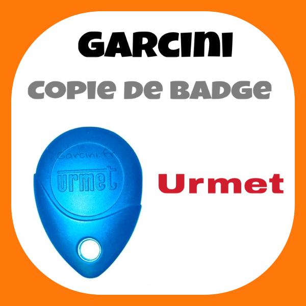 Badge Urmet bleu