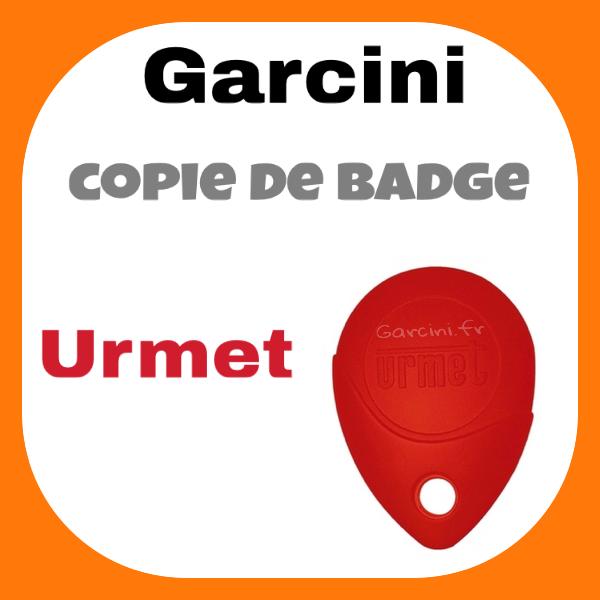 Badge Urmet rouge