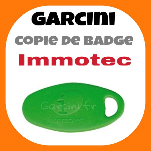 Badge Immotec Vert