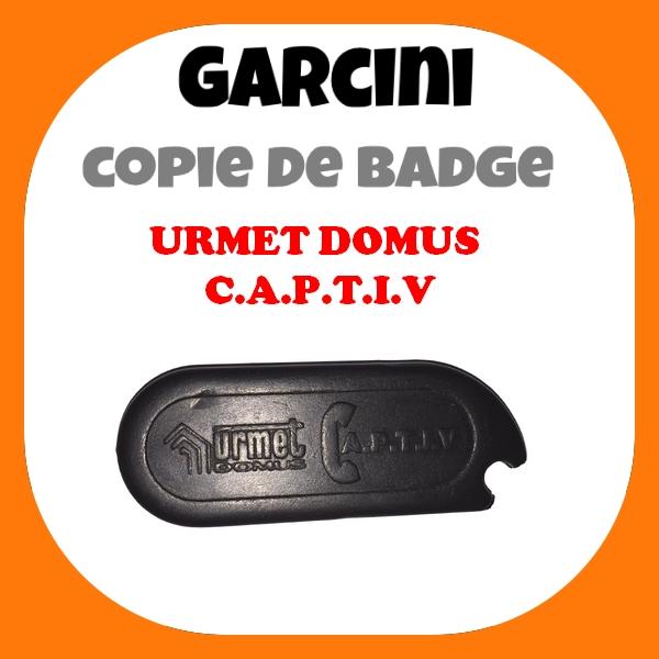 Badge Urmet Domus Captiv