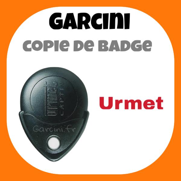 Badge Urmet noir