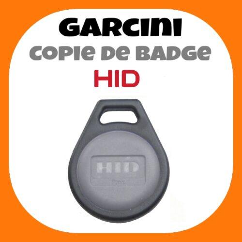 Copie de badge HID PROX