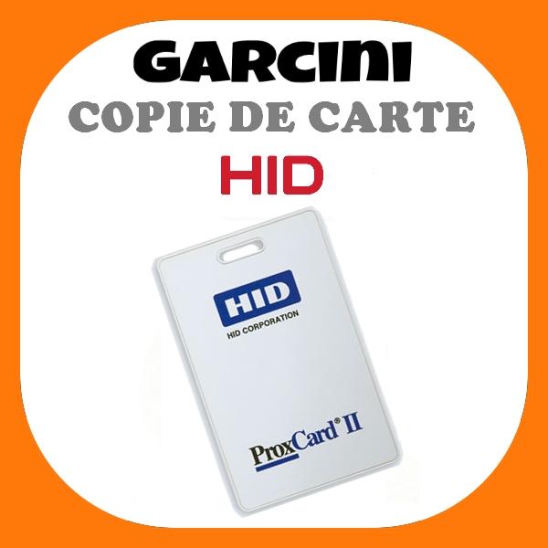 Copie de carte HID prox card